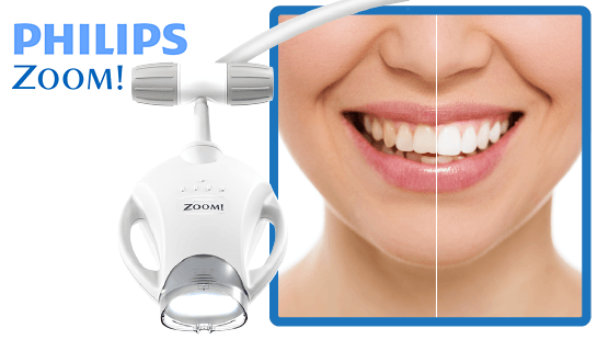 Phillips ZOOM! Whitening - available from Bondi Dentistry; your local dentist in the heart of Bondi Beach